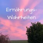 Cover 20-03 Ernährungswahrheiten auf rosa Himmel